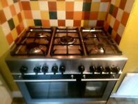 KENWOOD Stainless Steel Gas & Electric Cooker