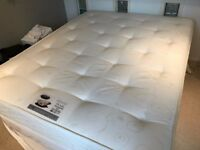 Mattress king size orthopaedic A1 condition hardly used (including delivery)