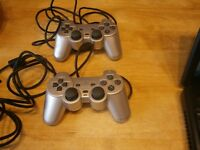 FOR SALE SONY OFFICIAL PS2 CONTROLLER X2