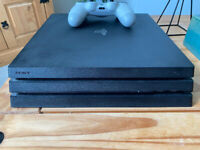 Playstation 4 (Pro) 1TB + White Controller