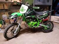 2014 Kawasaki KX65 KX 65 Mint condition.