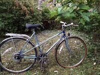 Raleigh 'wisp' ladies vintage racer racing town bike