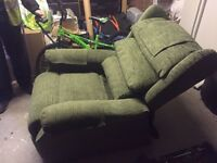 electric recliner chairs - like new only used a few times.