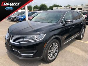 2018 Lincoln MKX LINCOLN DEMO, 0% LEASE OR 0.99% FIN