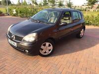 2002/02 Renault Clio PRIVILEGE 16V AUTO 1.4 Petrol LOW MILLAGE 55K Bluetooth