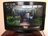 "19"" HD LCD TV BUILT IN DVD FREEVIEW Tv"