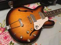 EPIPHONE CASINO ELECTRIC GUITAR Gibson Fender Dot J45 Es335 Martin Squier Beatles Korean Sunburst