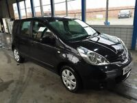 nissan note 2009 1.4 5 dr low mileage