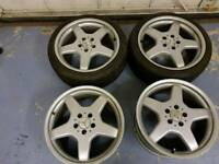 Mercedes audi vw alloy wheels 18 inch