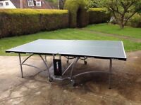 Indoor Butterfly Table Tennis Table - Full Size