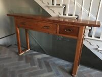 Console Table antique Californian
