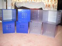 Cube storage boxes