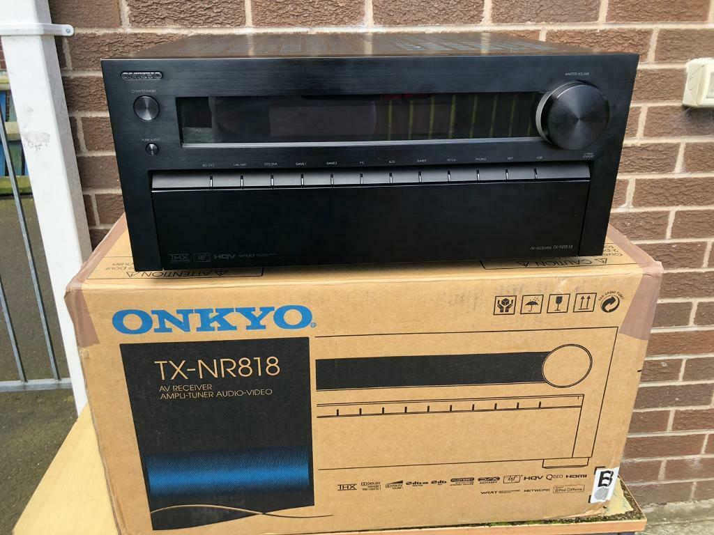 Onkyo TX-NR818 4k 7 2channel AV Receiver | in Lisburn, County Antrim |  Gumtree