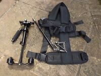 Stablelizing vest and weighted unit