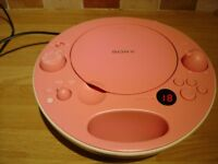 SONY ZS - E5 Portable PINK Boombox