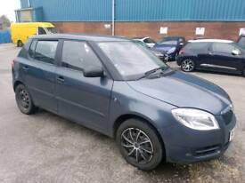 2009 SKODA FABIA 1.2 HTP 5 DOOR HATCHBACK GREY