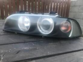 E39 headlights angel eye m sport bmw