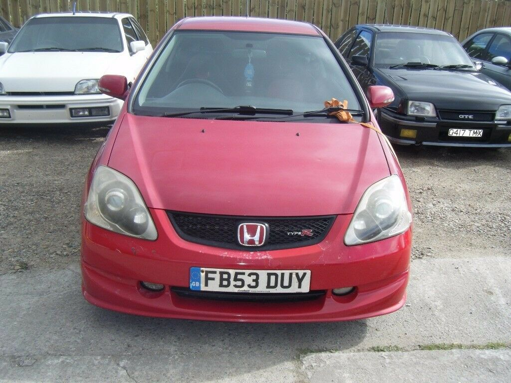 BREAKING 2 X HONDA CIVIC TYPE R EP3S AND A CIVIC 1.6 SPORT EP2 FACELIFT MODEL IV18 0LP INVERNESS