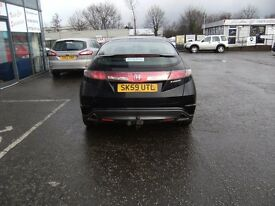 2009 59 HONDA CIVIC 1.8 I-VTEC SE 5D 138 BHP***GUARANTEED FINANCE***PART EXWELCOME