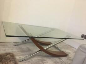 DFS Sleigh coffee table