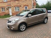 2009 NISSAN NOTE 1.4 ACENTA, MOT 12 MONTHS, CRUISE, BLUETOOTH, HPI CLEAR