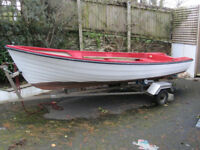 "14'6"" Day Boat - GRP Dinghy Norwegian Rana"