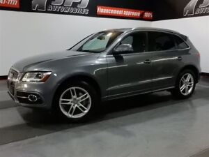 2013 Audi Q5 2.0T -S-LINE-AWD- TOIT PANORAMIQUE, CUIR -MAGS 2.0