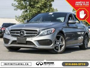 2015 Mercedes-Benz C400 C 400 AWD Panoramique GPS Cuir Bluetooth