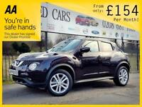 NISSAN JUKE 1.5 ACENTA DCI 5d 110 BHP Apply for finance Online today! (black) 2015