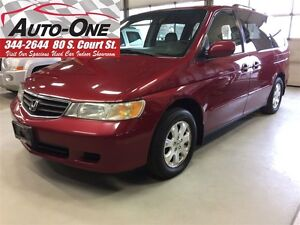 2002 Honda Odyssey EX-L w/Rear Entertainment System