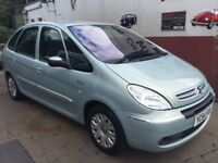 Citroen Xsara Picasso 2.0hdi,11 months mot,service history,clean,excellent runner,remote key,ac,cd.