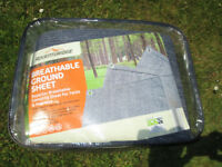 Breathable Ground Sheet Camping Caravan Awning