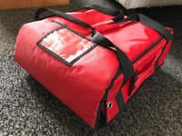 Take away hot food delivery bag