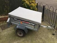 Erde Galvanised Tipping Trailer + cover