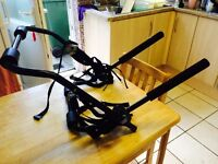 2 bike car rack - universal fitting - excellent condition