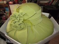 wedding guest hats excellent condition with hat boxes