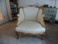 Shabby chic pretty french style chair