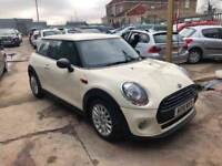 MINI Hatch 1.2 One (s/s) 3dr £7,945 p/x welcome 1 YEAR FREE WARRANTY, NEW MOT