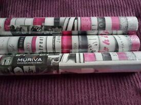 New wallpaper 3 rolls