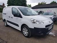 2013 Peugeot Partner l92 1.6 hdi CREW VAN **NO VAT**