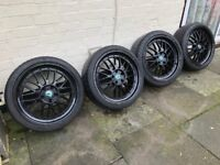 """19"""" alloy wheels with 235/35/19 tyres"""