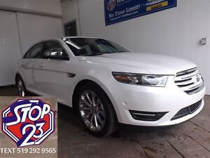 2016 Ford Taurus LIMITED AWD NAV SUNROOF LEATHER BACK-UP CAMERA
