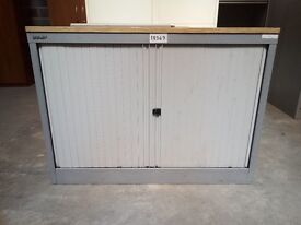 1000x1000x470mm tambour units in black with sliding white doors. Comes with 1 shelf and a key.£65