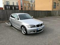 BMW 116i M Sports 1.6 Petrol ( front and back parking sensors ) 1 Year Mot & Low Mileage