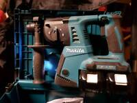 Makita 36v sds dlx2137pmj gun and drill for sale