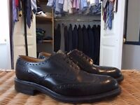 Brand new, unworn, Loake black leather brogues Size 8