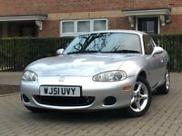 Mazda MX-5 1.8 2 Door Convertible COMES WITH HARD TOP + 2 OWNERS FROM NEW MX5 + 2 KEYS + WARRANTY
