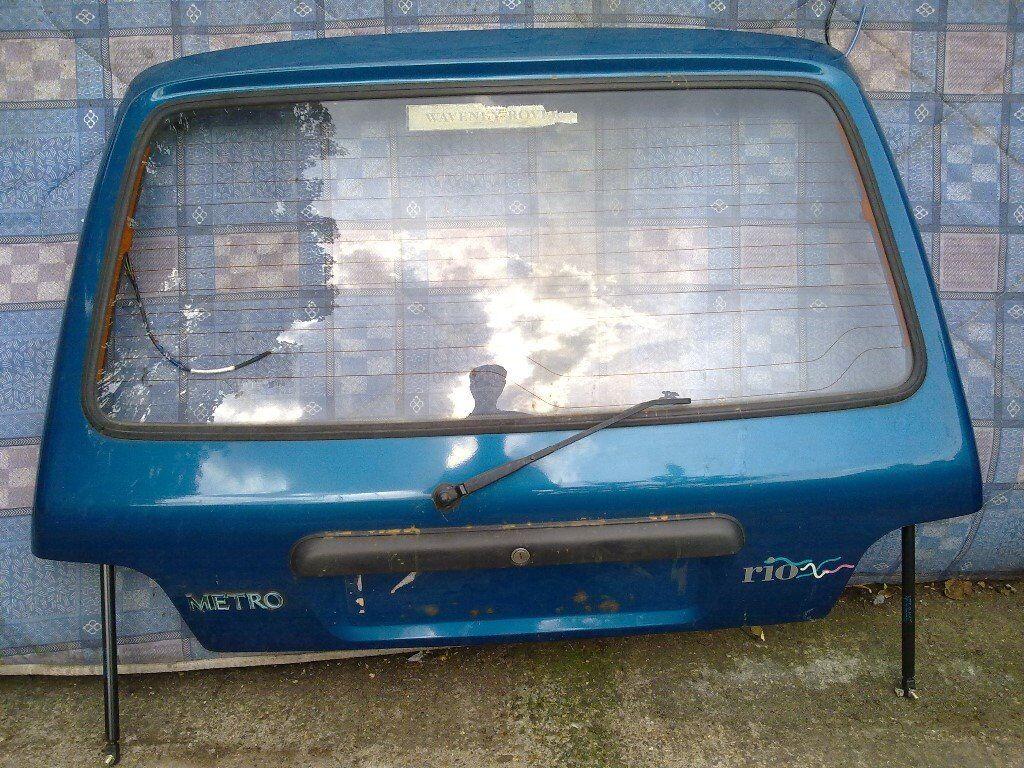 rover metro rear hatch door