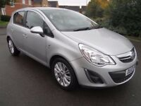2013 VAUXHALL CORSA 1.2 i 16v SE 5dr LOW MILES CHEAP INSURANCE AND TAX LOOK!!