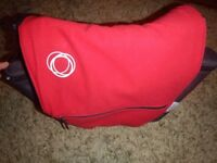 Bugaboo Changing Bag Nappy Bag Red Fleece